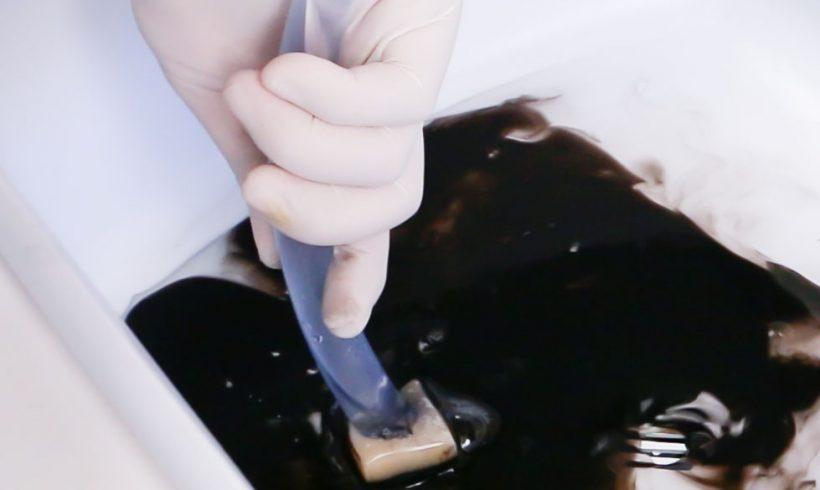 Lavado de esponja